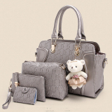 Wholesale Korean Style New Style Women S Bag Different Size Bags Champagne Color