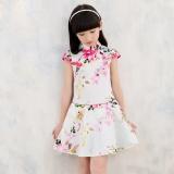 The New Slim Floral Children Cheongsam Intl Lower Price