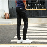 Buy The New Trend Of The Dark Blue Foot Trousers Cultivate One S Morality Han Edition Men S Trousers Are Black Teenagers Intl Online China