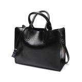 Best The New Winter 2017 Fashion Bag Retro Youpi Shoulder Messenger Bag Bag Simple All Black Intl