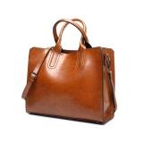 The New Winter 2017 Fashion Bag Retro Youpi Shoulder Messenger Bag Bag Simple All Brown Intl Online