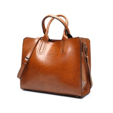 List Price The New Winter 2017 Fashion Bag Retro Youpi Shoulder Messenger Bag Bag Simple All Brown Intl Oem