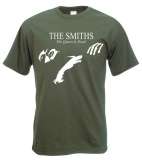 Price The Smiths The Queen Is Dead Printed Design Casual Cotton O Neck Short Sleeve T Shirt In Men Army Green Intl On China