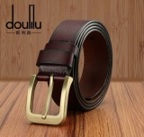 Great Deal The Whole Piece Of Pure Leather Belt Men S Fashion Leisure Korean Pin Buckle All Match Trend Models Intl