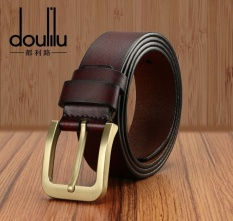 Price The Whole Piece Of Pure Leather Belt Men S Fashion Leisure Korean Pin Buckle All Match Trend Models Intl No Brand Online