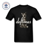 Sale Thw 2017 Fashion New Gift Tee Deftones Logo Cotton T Shirt For Men Intl Oem Wholesaler