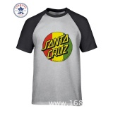 Discount Thw 2017 Hot Selling Funny Skateboard Skate Santa Cruz Funny Cotton T Shirt For Men Intl