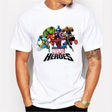 Buy Thw New Fashion Men S 3D Compression T Shirt Dc Superhero Iron Man Batman The Cotton Short Sleeve T Shirts For Men Intl Oem