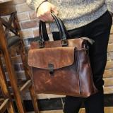 Who Sells The Cheapest Tidog Crazy Horse Leather Men Briefcase Business Bag Intl Online