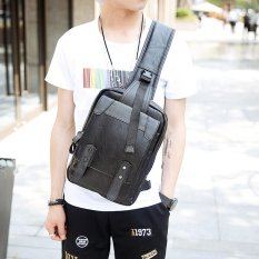 Price Tidog Korean Men S Fashion Big Chest Bag Intl Tidog China