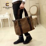Sale Tidog The New Korean Male Bag Men Canvas Bag Casual Bag Business Laptop Shoulder Bag Tote Bag Intl China