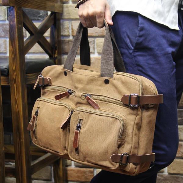 Tidog tide male bag briefcase bag handbag canvas casual bags - intl