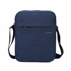 Low Cost Tigernu Men Messenger Bag Waterproof Shoulder Bag Business Travel Casual Bag Blue Intl