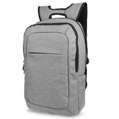 Recent Tigernu Unisex Anti Wrinkle Ventilate Double Layer Fasten Zippers Guard Against Theft Laptop Backpack With Lock Grey Intl