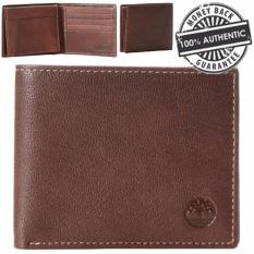 Review Timberland Men S Blix Leather Wallet With Open Id Windows Brown Singapore