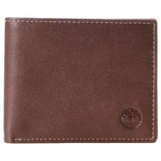 Timberland Men S Leather Wallet Blix Bifold With Passcase Brown Online