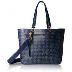 Sale Tommy Hilfiger Item Travel Tote Bag For Women Navy Tonal Intl Tommy Hilfiger Cheap