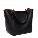 Review Top Rate 2017 New Fashion Women Handbag Famous Brand Shoulder Bags Solid Designer Handbags Ladies Hand Bags Women Tote Big Female Bag Black Overseas Intl On China
