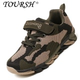 Best Offer Toursh Boys Camouflage Fashion Shos Casual Cool Children Shoes Army Green Intl