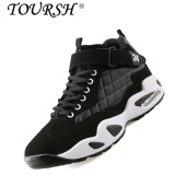 Toursh Men Lovers Air Cushion Basketball Shoes Four Seasons Sneakers Black Intl Shop