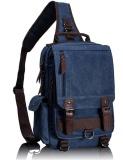 Great Deal Tourya Canvas Crossbody Bags For Men Female Messenger Chest Bag Pack Sling Bag Large Capacity Handbag Single Shoulder Strap Pack Dark Blue Intl