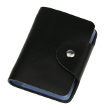 Wholesale Tp New Super Quality Leather Small Card Holder Case Credit Card Holderwallet 26 Slots Black Intl