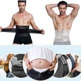 Buy Trainer Workout Waist Trimmer Slimming Girdle Belt Belly Tummy Lumbar Abdomen Back Brace Support Wrap For Men Women Weight Loss Pain Relief Intl Online