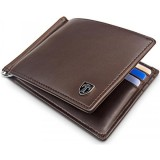 Cheaper Travando Slim Wallet With Money Clip Lagos Rfid Blocking Wallet Credit Card Holder Travel Wallet Minimalist Wallet Mini Wallet Vintage Bifold With Gift Box For Men Intl