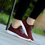 Wholesale Trends Women S Casual Shoes Sneakers Flat Shoes Outdoor Sports Fitness Running Fashion Shoes Red Intl