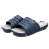 Review Tth Men Massage Home Slippers Indoor Outdoor Slides Fashion Trend Sandals Gray Intl Oem On China