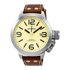 Cheapest Tw Steel Canteen Silver Watch Tw21 Export Online