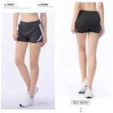 Fullbelief Woman Sports Shorts Running Gym Bodybuilding Summer Yoga Slim Quick Dry Ventilation Anti Exposure Thin Female Hot Pants White) Intl Coupon Code