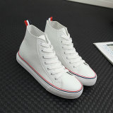 Buying Chic New Style Bai Female Summer Canvas Shoes White
