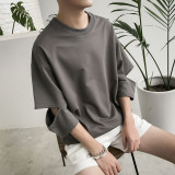 Review Ulzzang Korean Style Male Wind Students Half Sleeved T Shirt Gray Other On China
