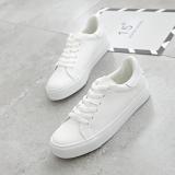 Best Buy Ulzzang Korean Version Of Female Lace Autumn White Shoes Baymini Shoes Large White