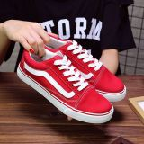 Ulzzang Korean Version Of Women Spring New Style Couple S Shoes Canvas Shoes 028 Red Color Price Comparison