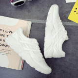 Buy Cheap Ulzzang Versatile White Female Student Running Shoes Korean Style Sports Shoes White
