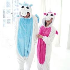 Brand New Unisex *d*lt Pajamas Sleepsuit Costume Cosplay Lounge Wear Kigurumi Onesie Sleepwear Pyjamas S Xl Pink Intl