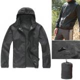 Review Unisex Waterproof Windproof Outdoor Sports Jacket Bicycle Running Rain Coat Xxxl Size Intl Oem