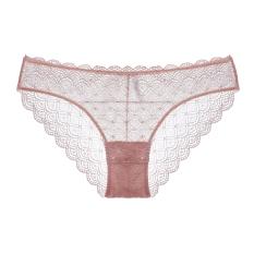 Price Us Mesh Transparent Panties Orange Pink On China