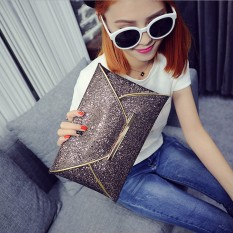Us Women Sequins Evening Party Glitter Envelope Bag Purse Clutch Handbag Satchel Champagne Autoleader (export) By Autoleader.