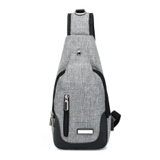 Store Usb Charge Port Men Women Small Shoulder Bags Travel Sling Bags Chest Packs Intl Vwinget On China