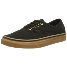 b4b45181cba6 Vans Unisex Authentic Black Rubber Skate Shoe en US   8.5 Women US - intl