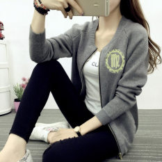 Who Sells The Cheapest Versatile Autumn New Sweater Baseball Clothes Gray Online