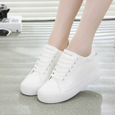 How To Buy Versatile Female Breathable Muffin Shoes White Shoes White