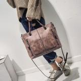 Sale Versatile Female New Atmosphere One Shoulder Shoulder Bag Tote Bag Pink Pink Oem Original