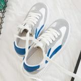 Sale Versatile Female New Style Thick Bottomed Canvas Shoes Sneakers Women S Bai Lan Oem Original
