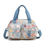 Price New Style Large Middle Aged Diaper Bag Blue Bottom Flower Oem Original