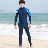 Best Reviews Of Victory Man Siamese Long Sleeve Wetsuits Surfing Suit Swimming Suit Couples Prevent Bask In Clothes Blue Intl