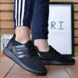 Recent Victory New Men Casual Breathable Non Slip Fashion Mesh Surface Sport Shoes Sports Sneakers(Black) Intl
